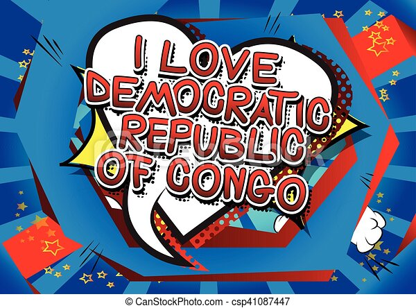 congo, amore - csp41087447