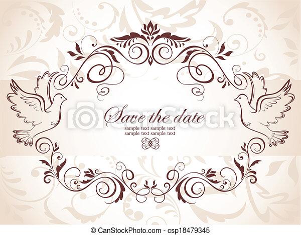 Congratulation card - csp18479345
