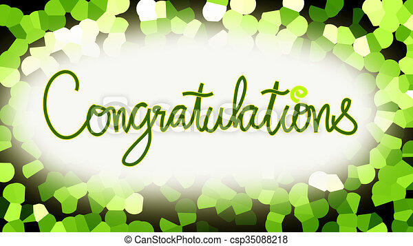 congratulation word blue background congratulation word font and