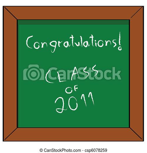 Congratulations Class of 2011 - csp6078259