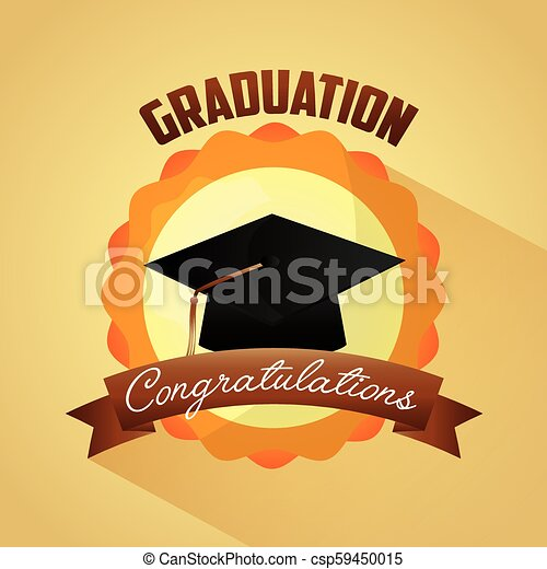 Congratulations Graduation Card Congratulations Graduation Hat