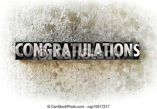 Congratulations - csp15917217