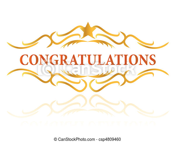 Congratulations - csp4809460