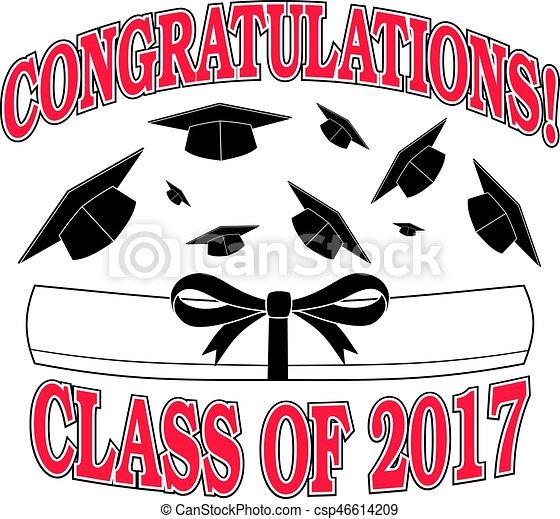 congratulazioni, 2017, classe - csp46614209