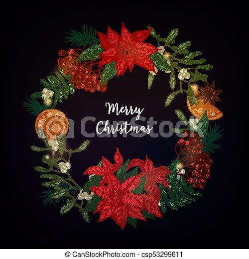 Stella Di Natale Luce.Conifero Ghirlanda Decor Garland Anice Stella Di Natale Rowan Mazzi Pianta Festa Vischio Albero Stella Bacche Naturale Decorato