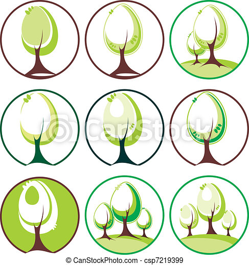 Árboles listos - csp7219399