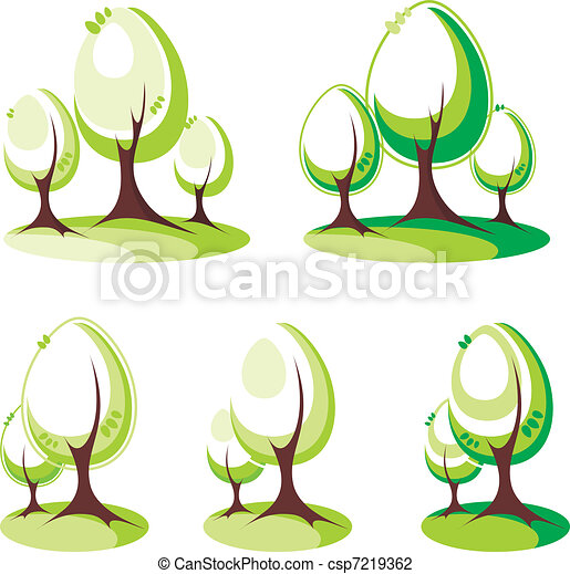 Árboles listos - csp7219362