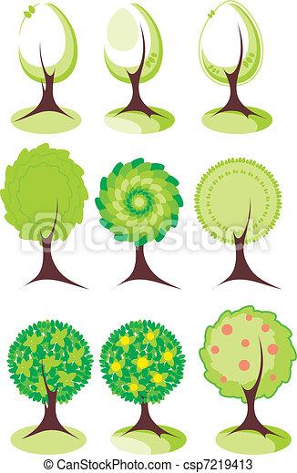 Árboles listos - csp7219413