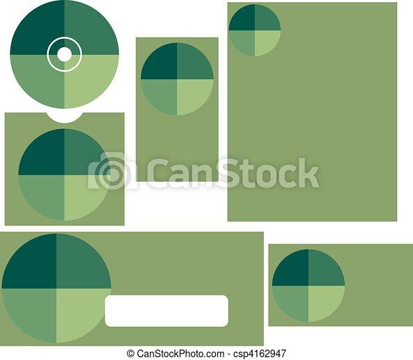 Negocios set cuatro - csp4162947