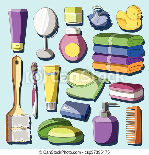 Conjunto accesorios ba o estilo conjunto free hand belleza accesorios ba o productos - Articulos para bano ...