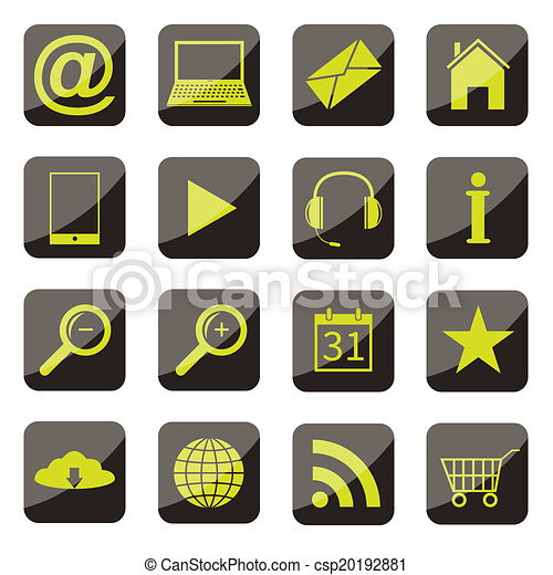 Apps icono set - csp20192881