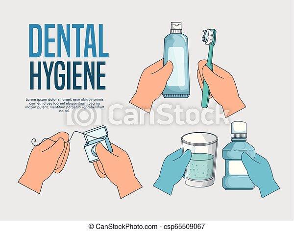 Establecer tratamiento de higiene dental a la salud - csp65509067