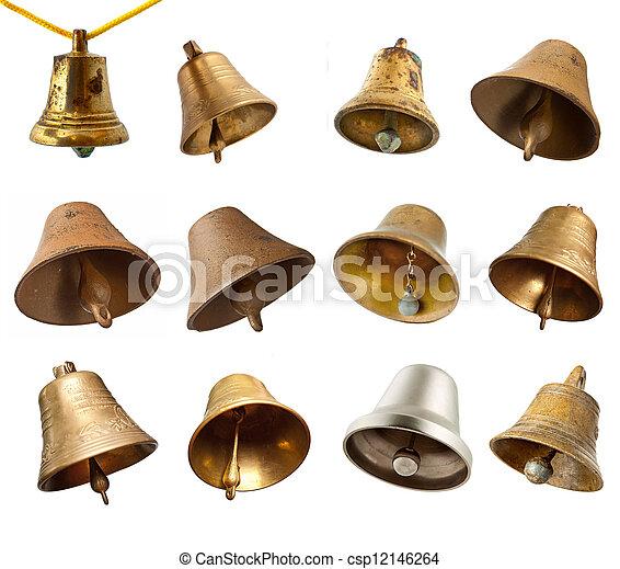 Un juego de campanas - csp12146264