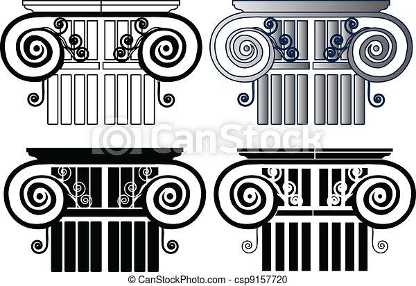 Un conjunto de columnas - csp9157720