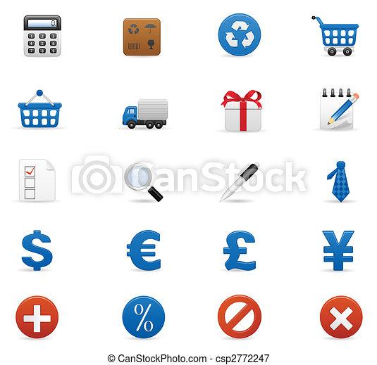 Un icono de compras - csp2772247