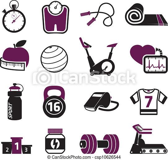 Fitness fijado - csp10626544