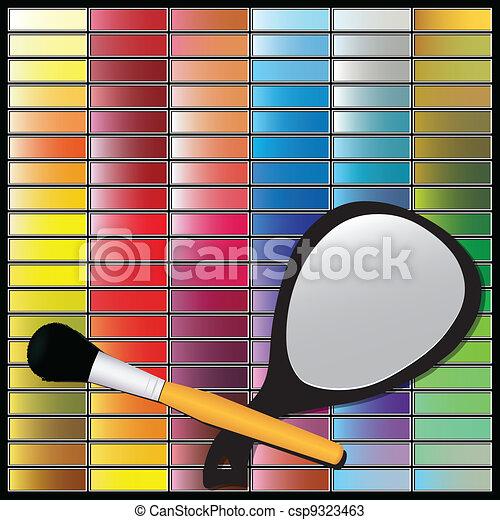 Un conjunto cosmético - csp9323463