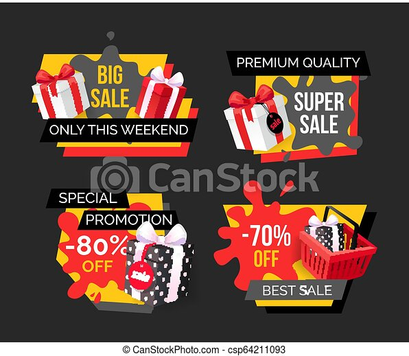 Gran venta sólo este fin de semana, reducción de precios - csp64211093
