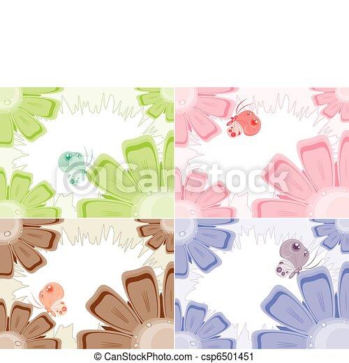 Flores, antecedentes - csp6501451