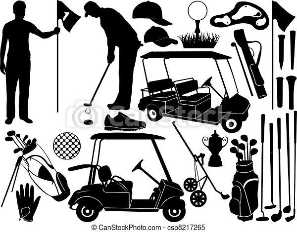 El golf está listo - csp8217265