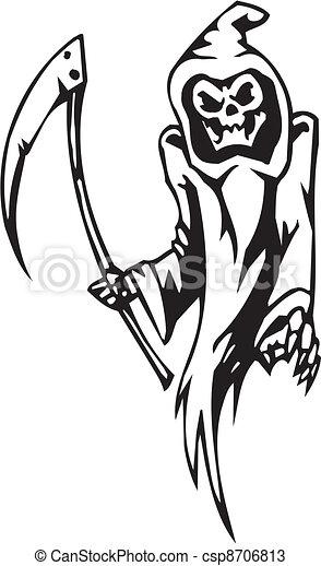 Segado de Brujas, ilustración del vector - csp8706813