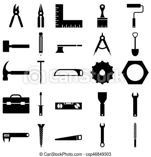 El icono de herramientas - csp46849303
