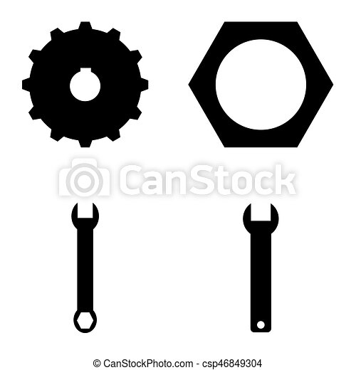 El icono de herramientas - csp46849304