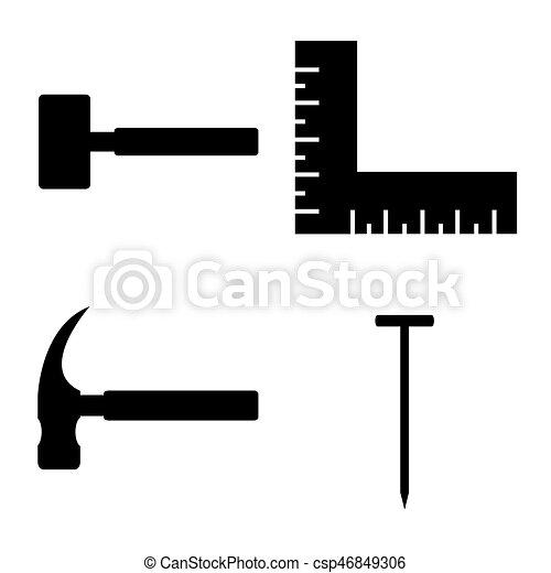 El icono de herramientas - csp46849306