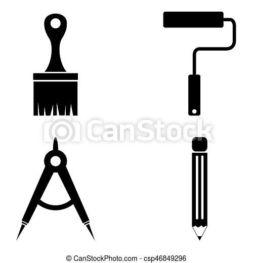 El icono de herramientas - csp46849296