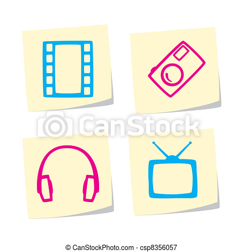 Icon set - csp8356057