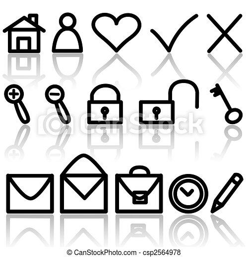 Icon set - csp2564978