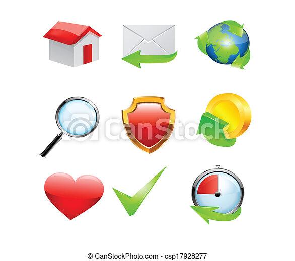 Iconos listos - csp17928277