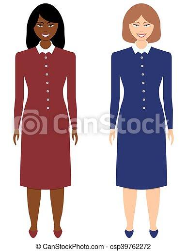 Mujeres de negocios - csp39762272