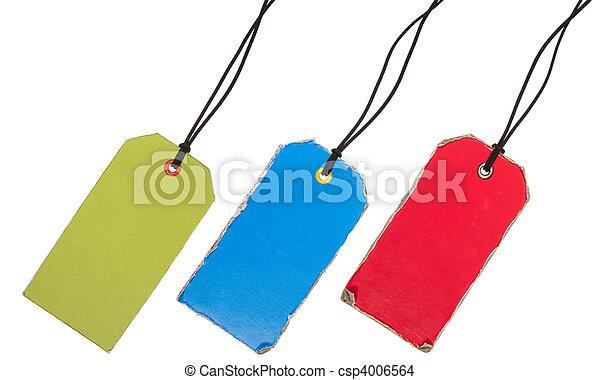 conjunto, old-style, colorido, etiquetas - csp4006564