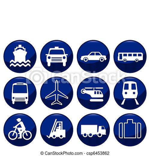 icono de transporte - csp6453862