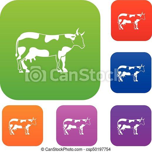 Colección de vacas - csp50197754