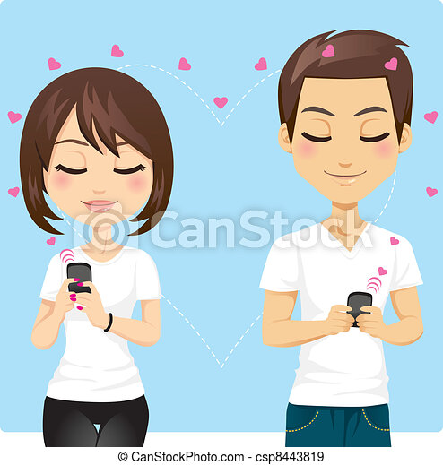 Connected Love - csp8443819