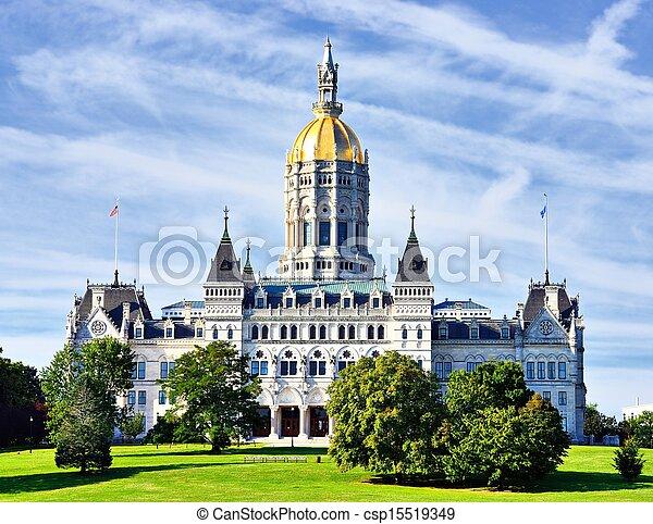 Connecticut State Capitol - csp15519349