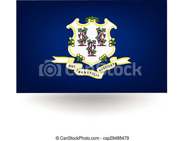 Connecticut State Flag - csp29488479