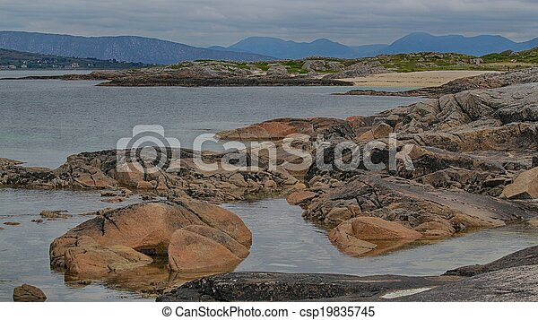 Connemara beach - csp19835745
