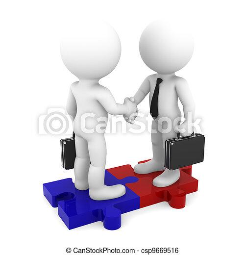 connexion, business - csp9669516
