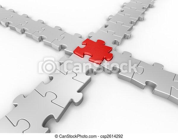 connexion, puzzle - csp2614292
