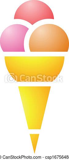 Cono de helado - csp16756488