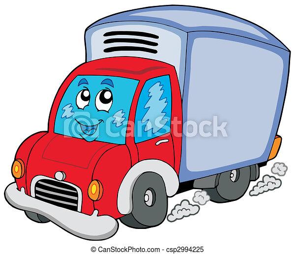 consegna, carino, automobile - csp2994225