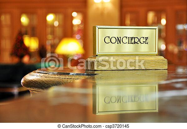 conserje, escritorio - csp3720145