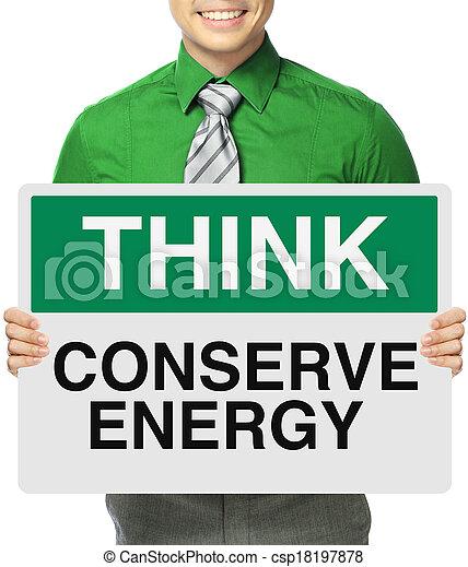 Conserve Energy - csp18197878