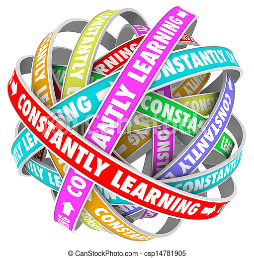 Constantly Learning Continual Growth Education Training - csp14781905