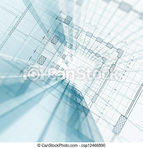 construção, arquitetura - csp12466890