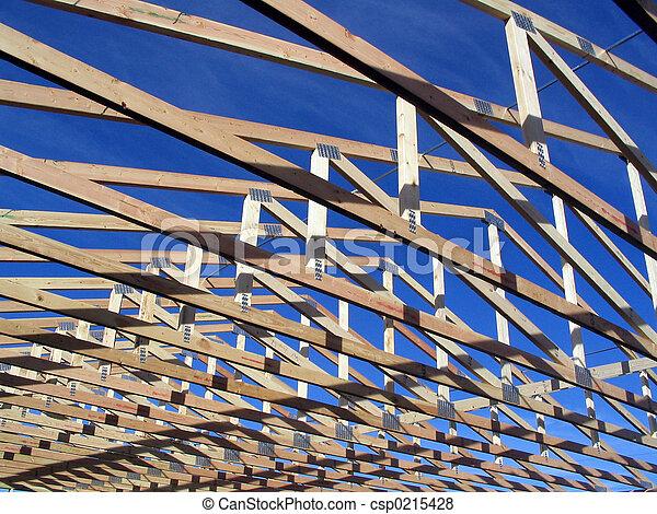 construção casa, bragueiros, durante - csp0215428
