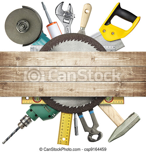 construção, ferramentas - csp9164459